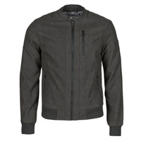 material Men Leather jackets / Imitation leather Kaporal KYRO Black