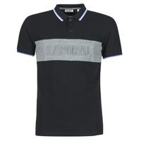 material Men short-sleeved polo shirts Kaporal DIAM Black