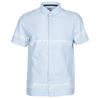 material Men short-sleeved shirts Kaporal STEVE Blue