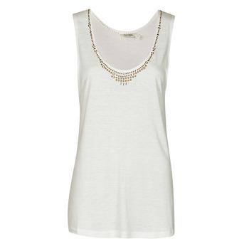 material Women Tops / Sleeveless T-shirts Kaporal PAMPI White