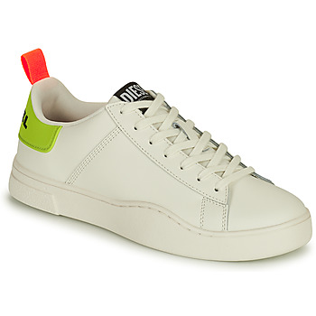 Shoes Men Low top trainers Diesel SICILY White