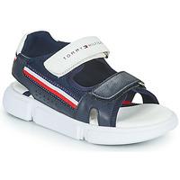 Shoes Children Sandals Tommy Hilfiger TIFFOU Blue
