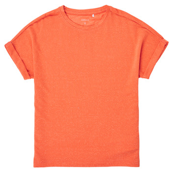material Girl short-sleeved t-shirts Name it NKFKYRRA Coral