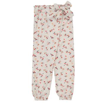 material Girl Wide leg / Harem trousers Name it NMFDELFIN White