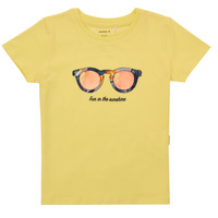 material Girl short-sleeved t-shirts Name it NMFFISUMMER Yellow