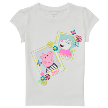 material Girl short-sleeved t-shirts Name it PEPPAPIG White