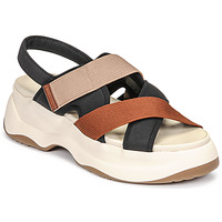 Shoes Women Sandals Vagabond Shoemakers ESSY White / Rust / Black