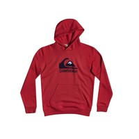 material Boy sweaters Quiksilver BIG LOGO Red