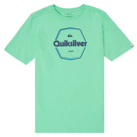 material Boy short-sleeved t-shirts Quiksilver HARD WIRED Blue
