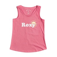 material Girl Tops / Sleeveless T-shirts Roxy THERE IS LIFE FOIL Pink