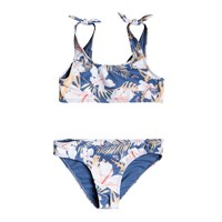 material Girl Bikini Roxy SWIM LOVERS BRALETTE SET Multicoloured