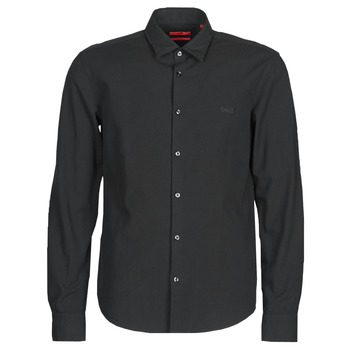 material Men long-sleeved shirts BOSS ERMO Black