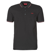 material Men short-sleeved polo shirts HUGO DINOSO Black