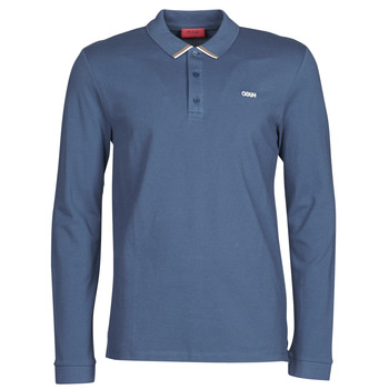 material Men long-sleeved polo shirts BOSS DONOL Blue