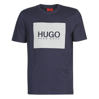 material Men short-sleeved t-shirts HUGO DOLIVE Marine