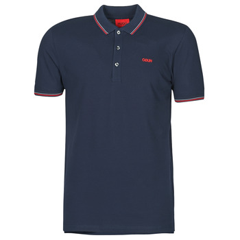 material Men short-sleeved polo shirts HUGO DINOSO Marine