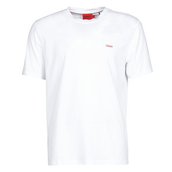 material Men short-sleeved t-shirts HUGO DERO White