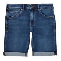 material Boy Shorts / Bermudas Teddy Smith SCOTTY 3 Blue / Dark