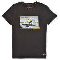 material Boy short-sleeved t-shirts Teddy Smith T-OLO Black