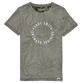 material Boy short-sleeved t-shirts Teddy Smith T-OTYS Kaki