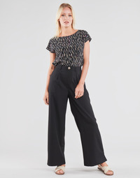 material Women Wide leg / Harem trousers Molly Bracken EF1424P21 Black