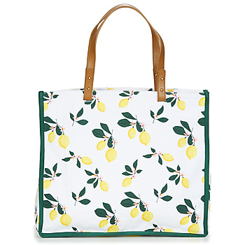 Bags Women Shopper bags Petite Mendigote CLEA LEMON White