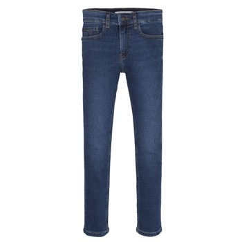 material Boy Skinny jeans Calvin Klein Jeans ESSENTIAL ROYAL BLUE STRETCH Blue