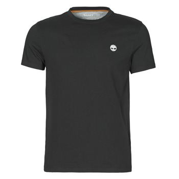 material Men short-sleeved t-shirts Timberland SS DUNSTAN RIVER POCKET TEE SLIM Black