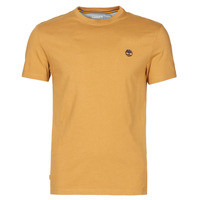 material Men short-sleeved t-shirts Timberland SS DUNSTAN RIVER POCKET TEE SLIM Beige