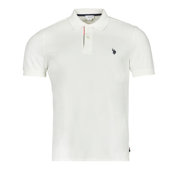 material Men short-sleeved polo shirts U.S Polo Assn. CURT POLO White