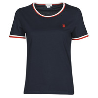 material Women short-sleeved t-shirts U.S Polo Assn. COLLYN TEE SS Blue / Red / White