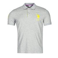 material Men short-sleeved polo shirts U.S Polo Assn. NEW HORSE POLO Grey