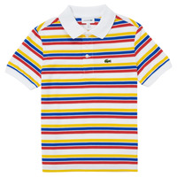material Boy short-sleeved polo shirts Lacoste PJ0304-77M Multicolour