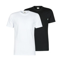 material Men short-sleeved t-shirts Urban Classics PACK X2 Black / White