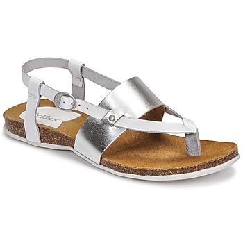 Shoes Women Sandals Kickers ANAGRAMI White / Silver