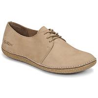 Shoes Women Derby shoes Kickers HOLSTER Beige