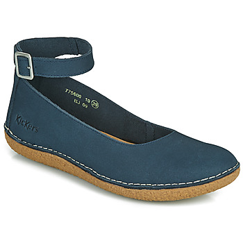 Shoes Women Ballerinas Kickers HONNORA Marine