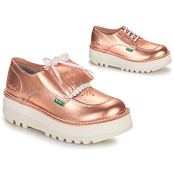 Shoes Women Derby shoes Kickers KICKOUCLASS Pink / Metal