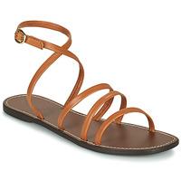 Shoes Women Sandals Kickers KICKNICE Camel