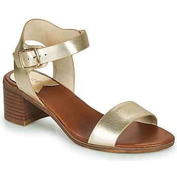 Shoes Women Sandals Kickers VOLOU Gold