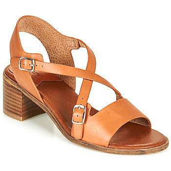 Shoes Women Sandals Kickers VOLUBILIS Camel