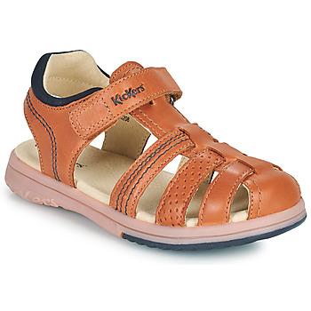 Shoes Boy Sandals Kickers PLATINIUM Camel