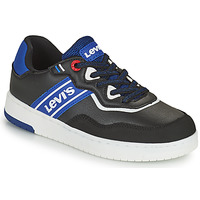 Shoes Boy Low top trainers Levi's IRVING Black / Blue