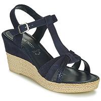 Shoes Women Sandals Marco Tozzi ANNA Marine