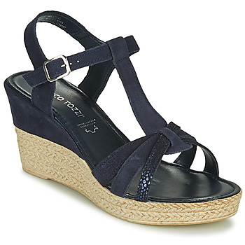 Shoes Women Sandals Marco Tozzi ANNA Marine