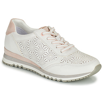 Shoes Women Low top trainers Marco Tozzi PAULA White