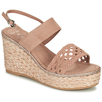 Shoes Women Sandals Marco Tozzi NUDINA Beige