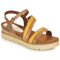 Shoes Women Sandals Marco Tozzi LIZZA Cognac