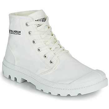 Shoes Mid boots Palladium PAMPA HI ORGANIC II White
