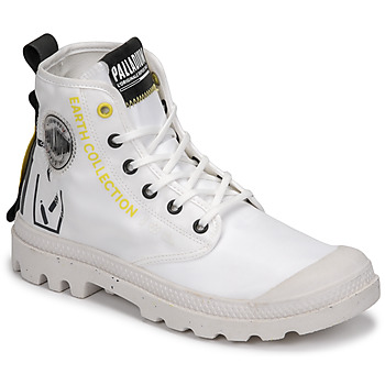 Shoes Mid boots Palladium PAMPA RCYCL METRO White